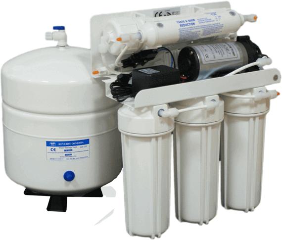 Filtrační systém s nanofiltrací NF 50 nebo NF85 s posilovací pumpou - 50GDP
