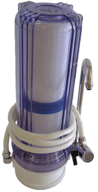 Filtry do kuchyně a kuchyňské linky - jednovložkové sestavy - plastový
