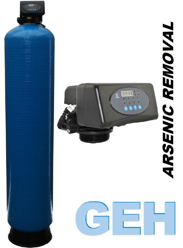 Automatické filtrační zařízení na odstranění arzenu z pitné vody GEH 30l.