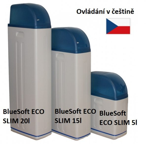 Změkčení tvrdé vody / změkčovač BlueSoft ECO SLIM